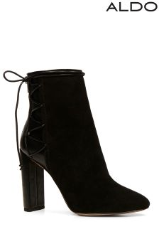 Aldo High Heel Almond Toe Booties