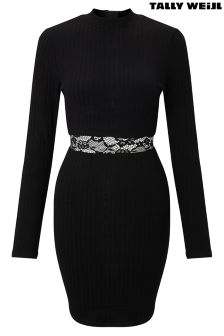 Tally Weijl Knitted Rib Dress