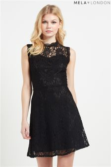 Mela Loves London Lace Sweetheart Dress