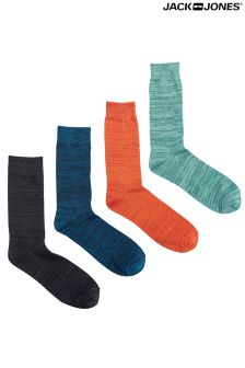 Jack & Jones 4 Pack Mens Socks