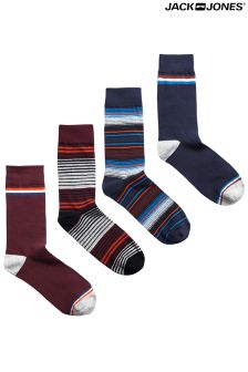 Jack & Jones 4 Pack Socks