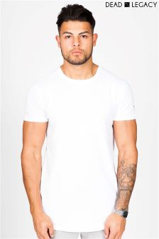 Dead Legacy Printed Curved T-shirt