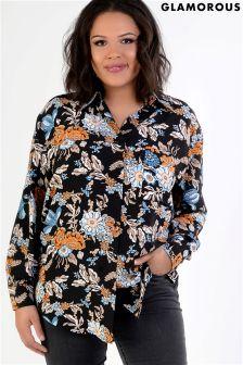 Glamorous Curve Print Shirt