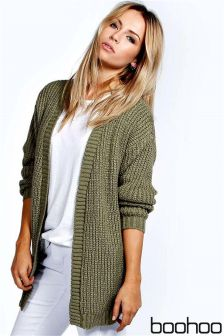 Boohoo Long Sleeve Cardigan