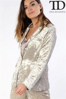 True Decadence Velvet Jacket