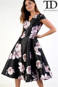True Decadence Printed Dress