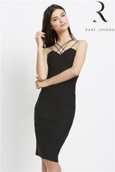 Rare Strap Detail Bodycon Dress