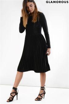 Glamorous Petite Velvet Dress