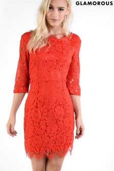 Glamorous Petite Lace Bodycon Dress
