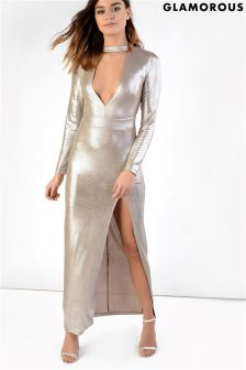 Glamorous Choker Maxi Dress