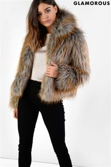 Glamorous Short Fur Jacket