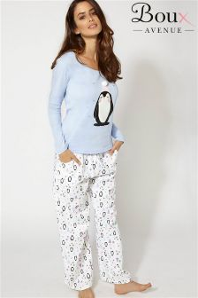 Boux Avenue Penguin Pyjama Set