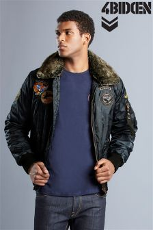 4 Bidden Camo Badge Bomber