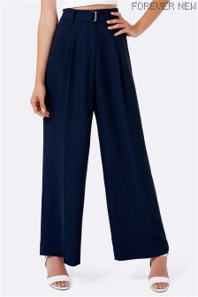 Forever New High Waisted Wide Leg Trousers