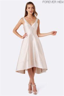 Forever New Deep V Prom Dress