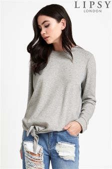 Lipsy Tie Front Top