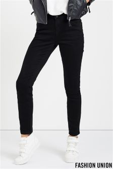 Fashion Union Push Up Skinny Jeans