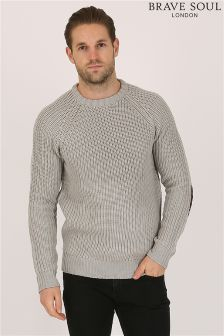 Bravsoul Ribbed Jumper