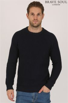 Bravesoul Knitted Jumper