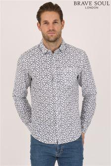 Bravesoul All Over Print Shirt