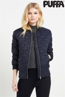 Puffa Quilted Bomber Jacket