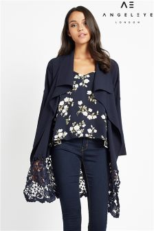 Angeleye Long Sleeve Lace Jacket