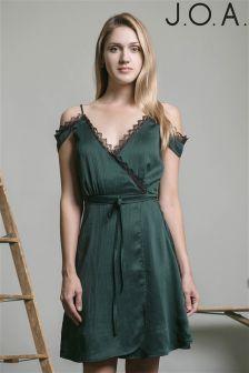 J.O.A Cold Shoulder Mini Dress