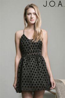 J.O.A Flare Mini Dress