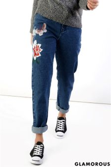 Glamorous Embroidered Jeans