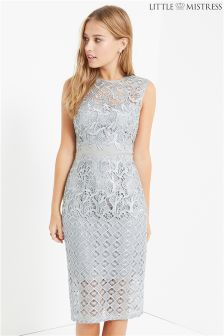 Little Mistress Crochet Bodycon Dress