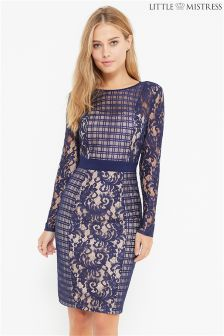 Little Mistress Lace Bodycon Dress