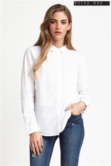 Noisy May Side Slit Shirt