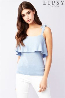Lipsy Bow Strap Top
