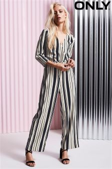 Only Striped Jumpsuit