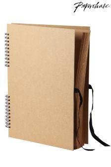 Paperchase Kraft A3 Scrapbook
