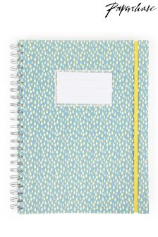 Paperchase Raindrops A4 Subject Notebook