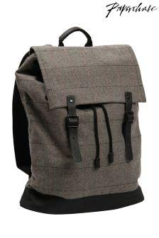 Paperchase Tweed Backpack