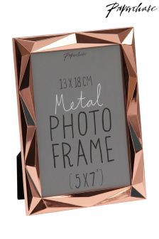 Paperchase Angle Copper Photo Frame 5x7