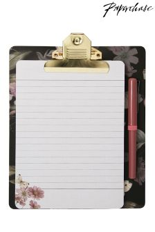 Paperchase Woodland Magnetic Clipboard, Pad And Pen