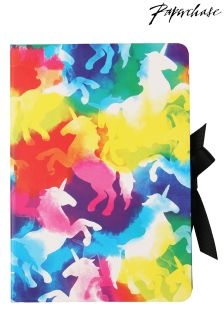 Paperchase Rainbow Unicorn Multi List Book