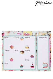 Paperchase Cake Shop Meal Planner