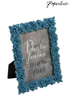 Paperchase Rose Blue Photo Frame 5x7