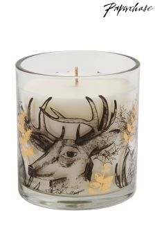 Paperchase Stag Candle