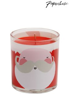 Paperchase Santa Candle