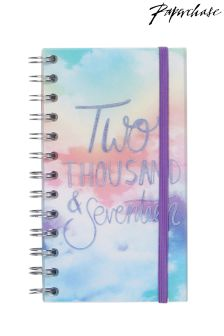 Paperchase Pastel Clouds Slim Wiro 2017 Diary