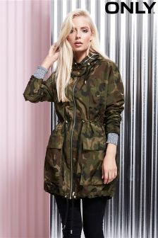 Only Camouflage Parka