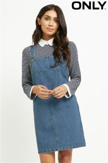 Only Denim Dungaree Dress