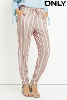 Only Multi Stripe Track Trousers