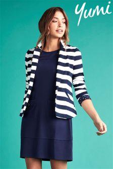 Yumi Stripe Blazer
