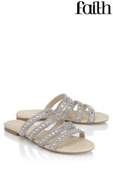 Faith Strappy Mules